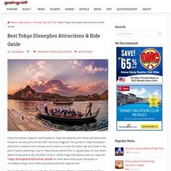 Best Tokyo DisneySea Attractions & Ride Guide