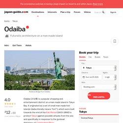 Tokyo Travel: Odaiba (Daiba)
