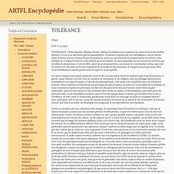 ARTFL Encyclopédie