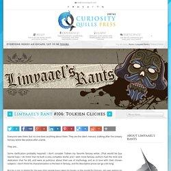 Tolkien Cliches - Curiosity Quills Press