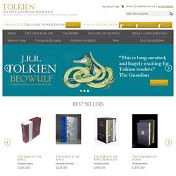 Tolkien Home | Official Tolkien Book Shop