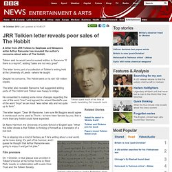 JRR Tolkien letter reveals poor sales of The Hobbit