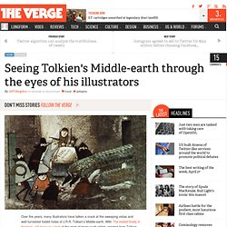 Seeing Tolkien's Middle Earth through the eyes of his illustrators