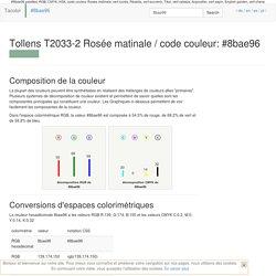 Tollens T2033-2 Rosée matinale / #8bae96 code couleur hexadécimal