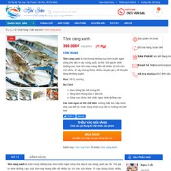 Tôm càng xanh - Hải Sản Trung Nam