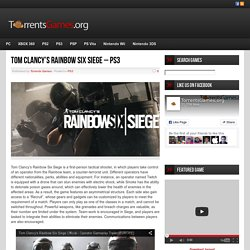 Tom Clancy's Rainbow Six Siege - PS3