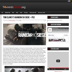 Tom Clancy's Rainbow Six Siege - PS3
