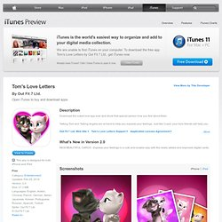 Tom's Love Letters for iPhone