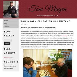 Tom Magen Education Consultant