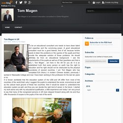 Tom Magen in UK - Tom Magen