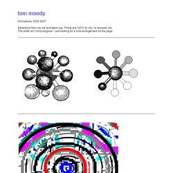Tom Moody - Animation 2002-2007