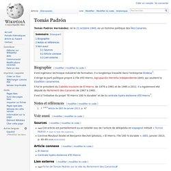 Tomás Padrón
