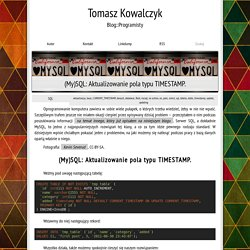 Tomasz Kowalczyk