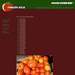 Tomaten-Atlas - Sorten