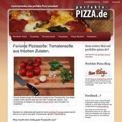 Tomatensoße für Pizza. Lecker.