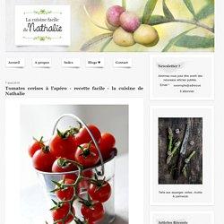 Tomates cerises à l'apéro