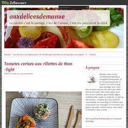 Tomates cerises aux rillettes de thon -light