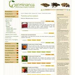 Tomates autres couleurs : semences biologiques et biodynamiques
