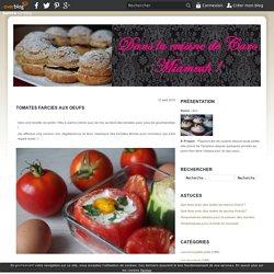 Tomates farcies aux oeufs - Dans la cuisine de Caro