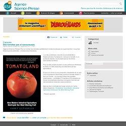 Des tomates pas si savoureuses