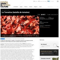 La Tomatina, fêtes, célébrations en Espagne.