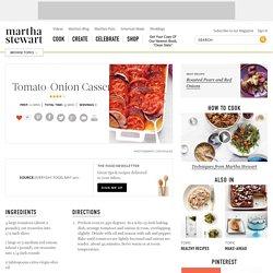 Tomato-Onion Casserole Recipe