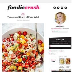 Tomato and Hearts of Palm Salad