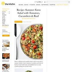 Ensalada. Trigo + Tomate + Pepino