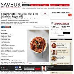 Shrimp with Tomatoes and Feta (Garides Saganaki) Recipe