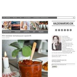 Tomatsauce - den bedste sauce med tomater til travle dage
