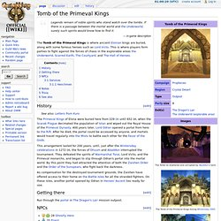 Tomb of the Primeval Kings