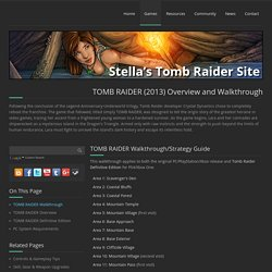 Tomb Raider (2013) Info and Walkthrough