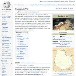 Tombe de Vix