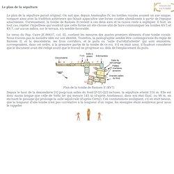 La tombe de Ramsès II - visite : Le plan de la sépulture