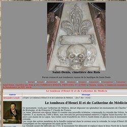 Le tombeau d'Henri II et de Catherine de Médicis