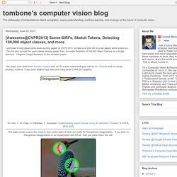 tombone's computer vision blog: June 2013