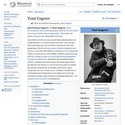 Tomi Ungerer / Wikipedia