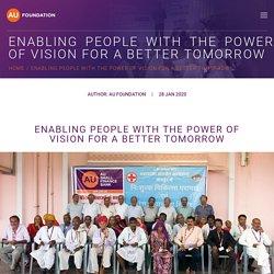 VISION FOR A BETTER TOMORROW- Rural Social Development Program