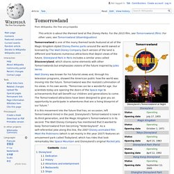 Tomorrowland - Wikipedia