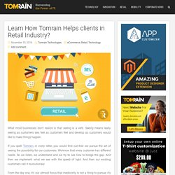 Tomrain's Role In Retail Industry