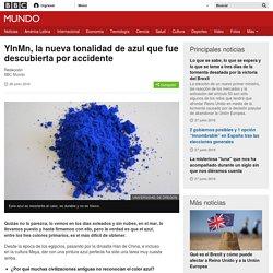 YInMn, la nueva tonalidad de azul que fue descubierta por accidente - BBC Mundo
