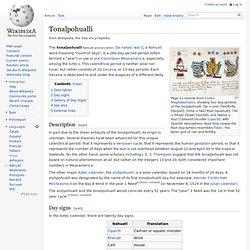 Tonalpohualli
