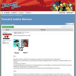 Simpsons City - Consulter le sujet - Toncard contre Maroco