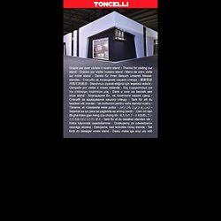 Home Page Toncelli - Una Grande Cucina Italiana - Toncelli Cucine SpA - Via Gramsci, 3 - 56037 Peccioli (Pisa) Italy - Tel. (+39) 0587 635032
