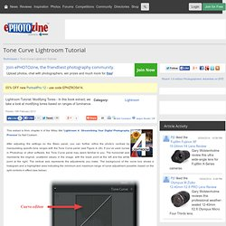 Tone Curve Lightroom Tutorial