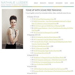 Free Training | Nathalie Lussier