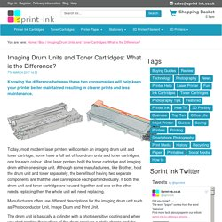 Toner Cartridges and Drum Units: What is the Difference?