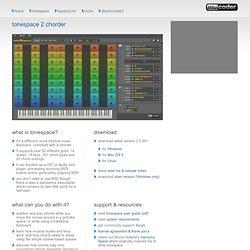 tonespace 2.0 chorder