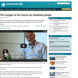 The tongue is the future for disabled people