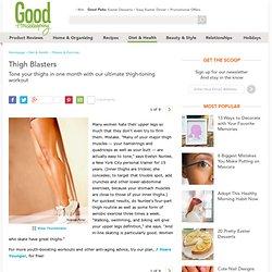 Thigh Toning Workout - Tone Thighs